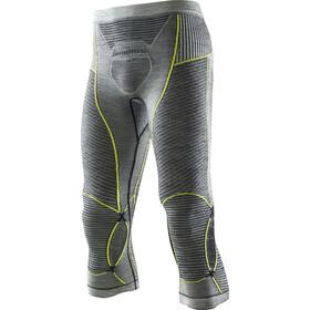 X-Bionic Apani Merino By X-Bionic Fastflow Ondergoed onderlijf Heren geel/grijs